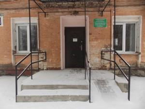 Входная площадка перед дверью Серегина 10
